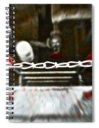 Desperate Escape Spiral Notebook
