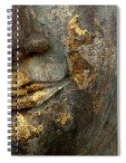 Detail Buddhas Lips Spiral Notebook