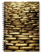 Detail Of Cobblestones, Dublin, Ireland Spiral Notebook