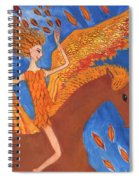 Detail Of Wild Winds Of Autumn Spiral Notebook