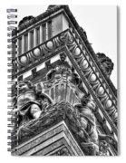Details Of The Ellicott Buildings Roof Spiral Notebook