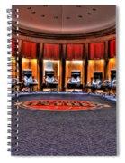 Detroit Pistons Locker Room Auburn Hills Mi Spiral Notebook
