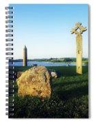 Devenish Island, Co Fermanagh, Ireland Spiral Notebook