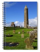 Devenish Monastic Site, Co. Fermanagh Spiral Notebook