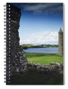 Devenish Monastic Site, Lough Erne, Co Spiral Notebook