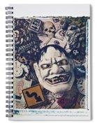 Devil Mask Spiral Notebook
