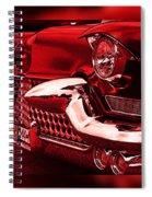 Devilish Hot Rod Spiral Notebook