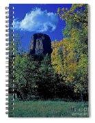 Devil's Tower Autumn Spiral Notebook