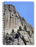Devil's Tower Full View Spiral Notebook