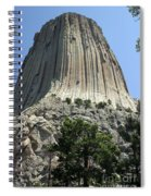 Devil's Tower Spiral Notebook