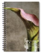 Dew Of A Lily Spiral Notebook