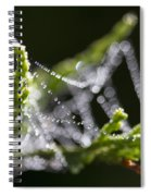 Dew With The Jitters Spiral Notebook