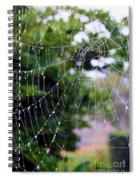 Dewdrops Dimension Spiral Notebook