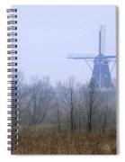 Dezwaan Windmill In Holland Michigan No. 105 Spiral Notebook