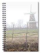 Dezwaan Windmill In Holland Michigan No.232 Spiral Notebook