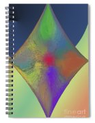 Diamond Abstract Spiral Notebook