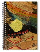 Diamond Sand Storm Spiral Notebook