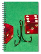 Dice Red Hook 1 A Spiral Notebook