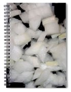 Diced Onions Spiral Notebook