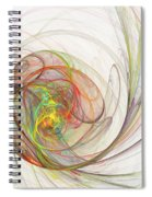 Diffusion  Spiral Notebook