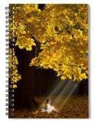 Digital Art Essay II Spiral Notebook