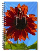Digital Art Essay IIi Spiral Notebook