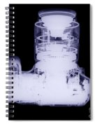 Digital Camera, X-ray Spiral Notebook