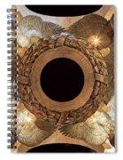Digital Liquid -  Ww II Memorial Victory Wreath Spiral Notebook