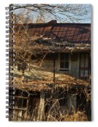 Dilapidated Farmhoue Spiral Notebook