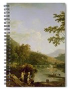 Dinas Bran From Llangollen Spiral Notebook