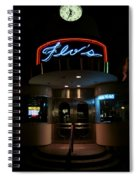 Diner At Night Spiral Notebook