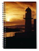 Dingle Lighthouse, Dingle Peninsula Spiral Notebook
