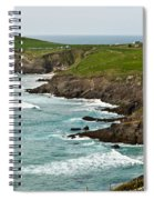 Dingle Peninsula Sea Shore 1 Spiral Notebook