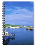 Dingle Town & Harbour, Co Kerry, Ireland Spiral Notebook
