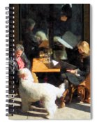 Dining Out With The Family Spiral Notebook