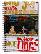 Dinner For Two Atlantic City On The Boardwalk   Spiral Notebook