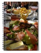Dinner Is Served Spiral Notebook