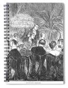 Dinner Party, 1885 Spiral Notebook