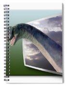 Dinosaur - Oof Spiral Notebook