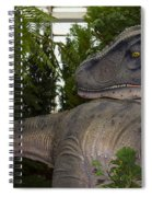 Dinosaur Inside The Conservatory Spiral Notebook