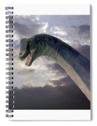 Dinosaur Sky Spiral Notebook