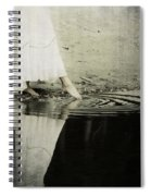 Dipping The Foot Spiral Notebook