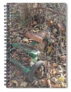 Discarded Spiral Notebook