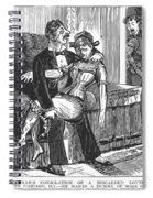 Discarded Lover, 1890s Spiral Notebook
