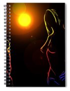 Disco Girls Spiral Notebook