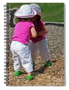 Discovering A Friend Spiral Notebook