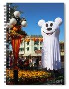 Disneyland Halloween 1 Spiral Notebook