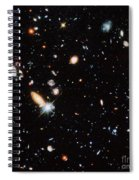 Distant Galaxies Spiral Notebook
