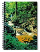 Distant Ozone Falls And Rapids - Summer Spiral Notebook
