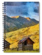Distant Storm Spiral Notebook